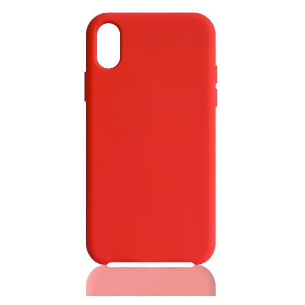 We Silicon Case Red For Apple iPhone Xs Max