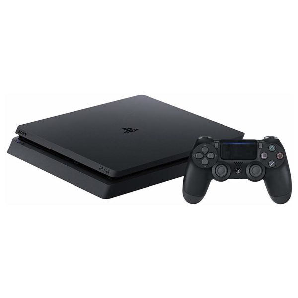 Sony PS4 Slim Gaming Console 1TB Black + FIFA 19 Game + Extra Controller