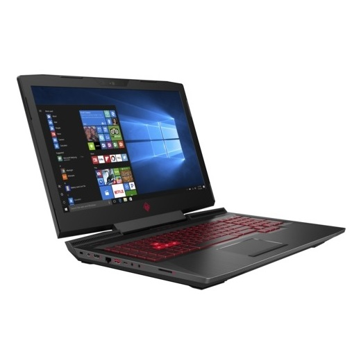 HP OMEN 17-AN008NE Gaming Laptop - Core i7 2.8GHz 16GB 2TB+256GB 8GB 17.3inch FHD Black