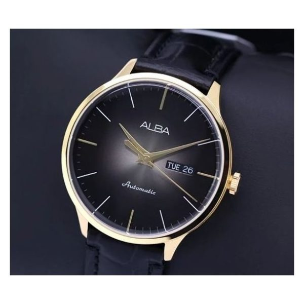 Alba AL 4108X Black Gent's Watch
