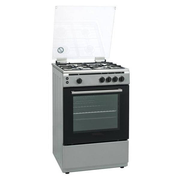 Hoover 4 Gas Burners Cooker FGC6060S1V