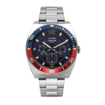 Alba AP 6525X Stainless Steel/Blue Gent's Watch