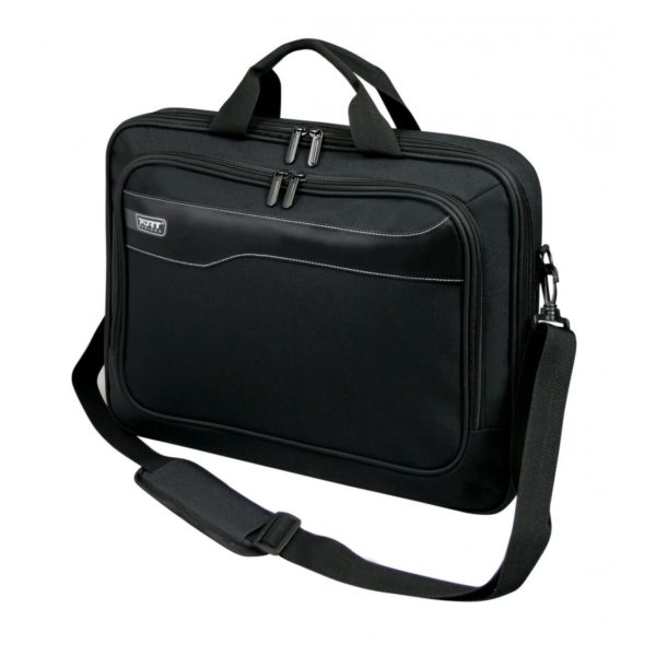 Port Hanol Clamshell Topload Carry Case For Laptop Black 13.3inch