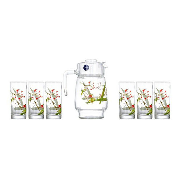 Luminarc Drink Set Beatitude 7 Pcs Set