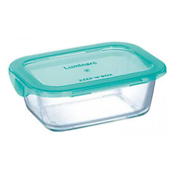 Luminarc P4522 Keep N Box Rectangular Flat Rim 380ml
