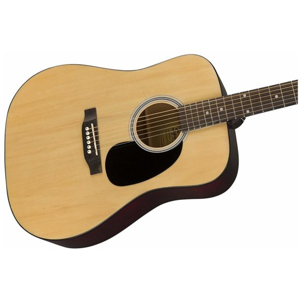 Fender Squier SA150 Dreadnought Acoustic Guitar Natural