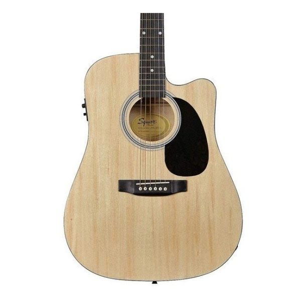 Fender Dreadnought Electric Acoustic Guitar Natural
