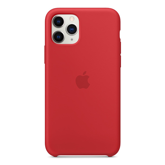 Apple Silicone Case (PRODUCT)RED iPhone 11 Pro Max