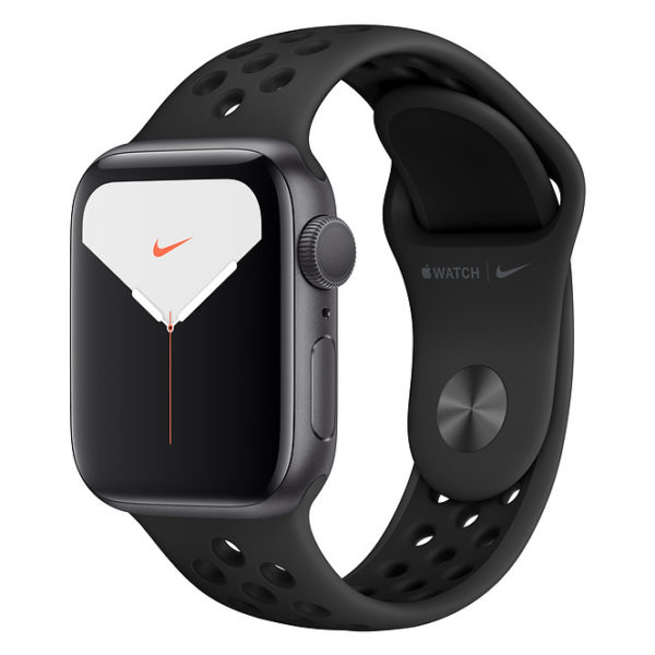 Apple Watch Series 5 GPS 40mm Space Grey Aluminium Case with Anthracite/Black Nike Sport Band