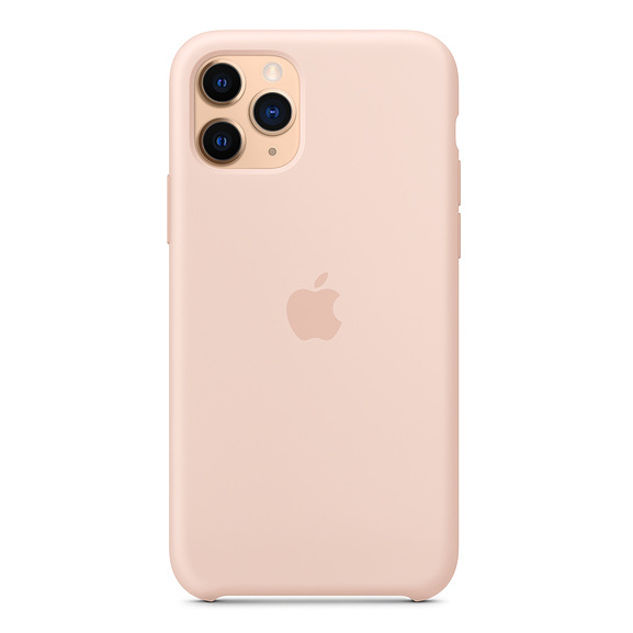 Apple Silicone Case Pink Sand iPhone 11 Pro Max price in ...
