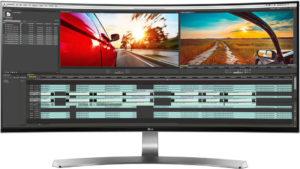 LG 34UC98 21:9 UltraWide WQHD IPS Thunderbolt Curved LED Monitor 34 Inch