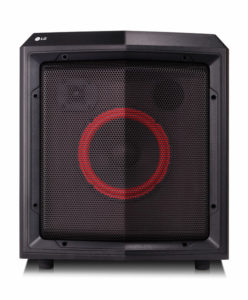 LG FH2 Loudr Portable Speaker Black