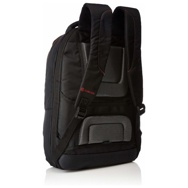 Carlton Laptop Backpack Black