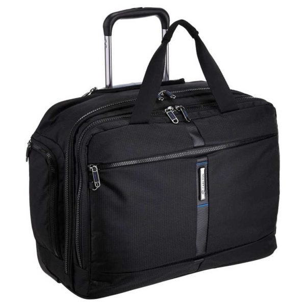 Carlton Wallstreet Laptop On Wheel Case Black