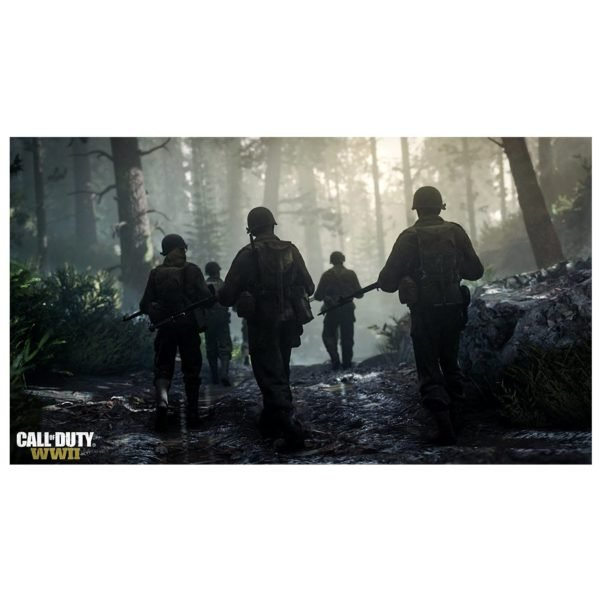 PS4 Call Of Duty WWII Game + 3 Months Playstation Plus Membership Subcription