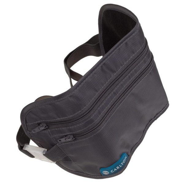 Carlton WSTPCHGRY Security Waist Pouch Grey