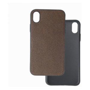 Trands Back Case For iPhone XR - Coffee Brown