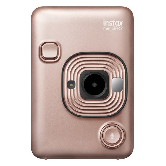 Fujifilm instax mini LiPlay Hybrid Instant Film Camera Gold