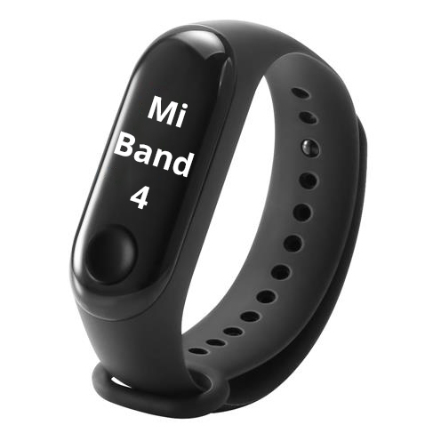 Xiaomi Mi Smart Band 4 Fitness Tracker - Black