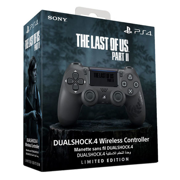 Sony Limited Edition The Last of Us Part II DUALSHOCK 4 Wireless Controller for PS4