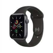 Apple Watch SE GPS 44mm Space Grey Aluminum Case with Black Sport Band