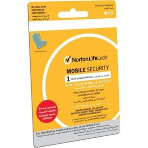 Norton LifeLock 1 Mobile Security with 1 Year Subscription