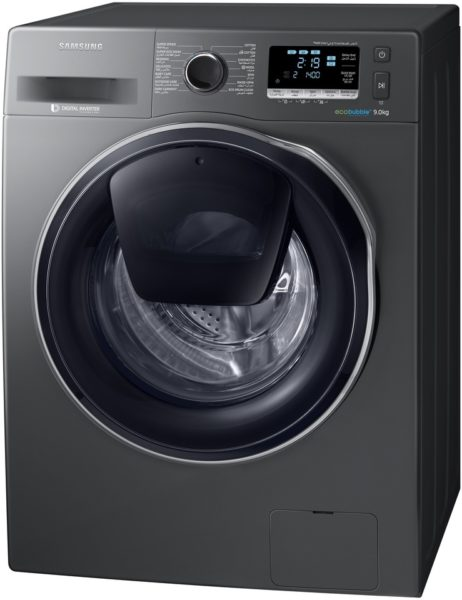 Samsung Front Load Washer 9Kg Inox Gray WW90K6410QXSG