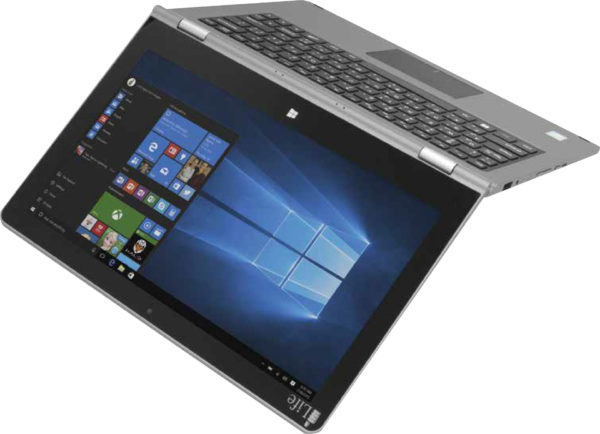 ILife ZedNote Convertible Touch Laptop - Atom 1.8GHz 2GB 64GB Shared Win10.1 14inch HD Silver