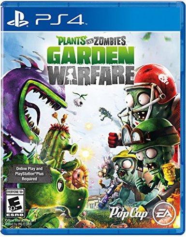 PS4 Plants Vs Zombies Garden Warfare Game