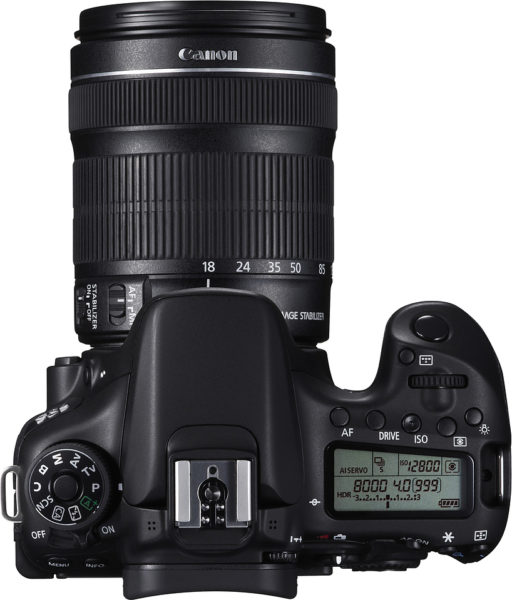 Canon EOS 70D DSLR Camera Black With 18-135mm IS STM Lens