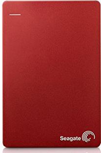 Seagate STDR2000203 Backup Plus Portable Hard Drive USB3.0 Red 2TB