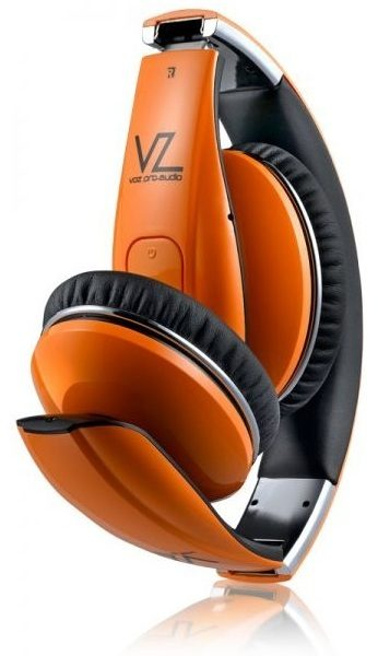 Voz VPAHS5P Pro Audio Bluetooth Headphone Orange