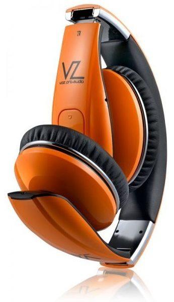 Voz VPAHS5P Pro Audio Bluetooth Headphone Orange
