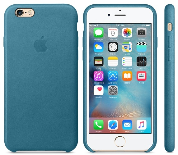 reputable site 2d9fb e2e90 Buy Apple MM362ZM/A Leather Case Marine Blue For IPhone 6S Plus ...