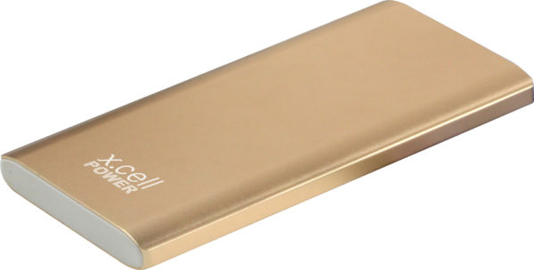 Xcell PC10500 Portable Power Bank Gold