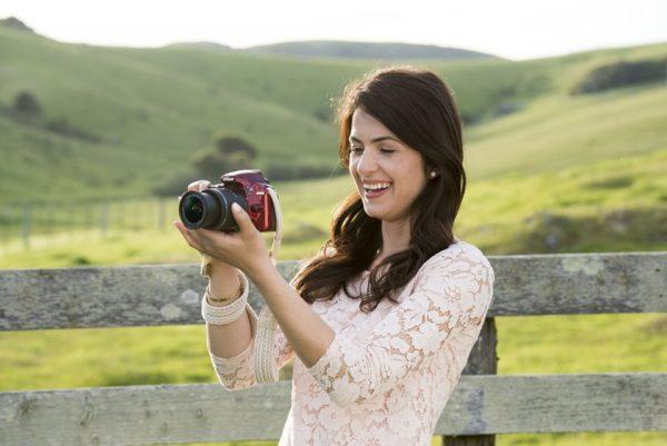 Nikon D3400 DSLR Camera Black With AF-P 18-55mm Lens
