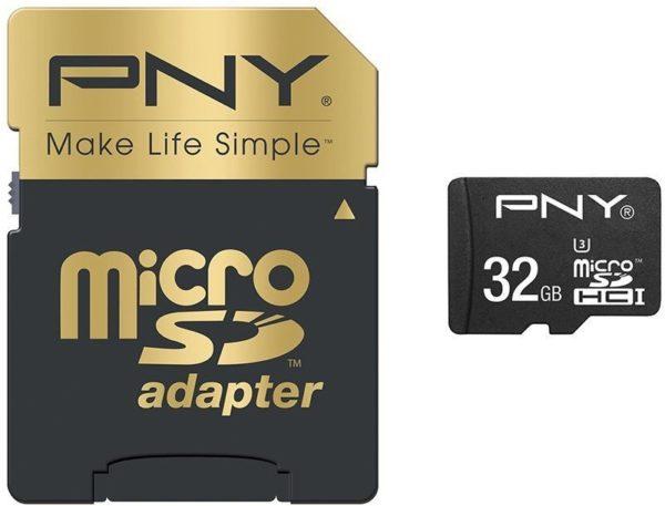 PNY SDU32G10ELIPEREF 100MB/s Elite Performance Micro SDHC Card 32GB