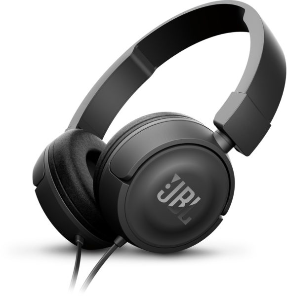 JBL T450 On Ear Headphone Black