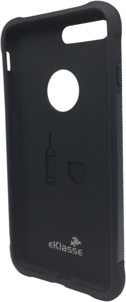 Eklasse EKMCI7P03 Anti Shock Anti Slip Case Black For iPhone 7 Plus