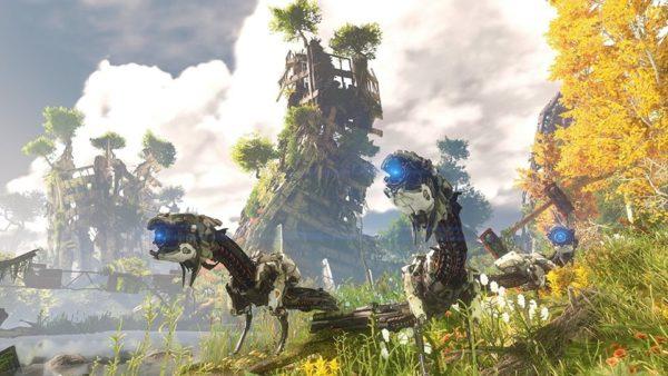 PS4 Horizon Zero Dawn Game
