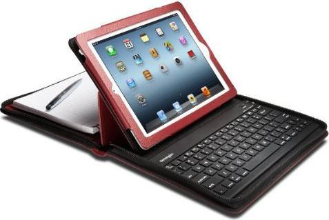Kensington K39740WW Keyfolio Executive Keyboard Red + K39677 Stylus