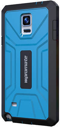 285b90de871 Buy Promate ARMORN4 Rugged   Impact Resistant Protective Case Blue For  Galaxy Note 4 W  Screen Protector – Price