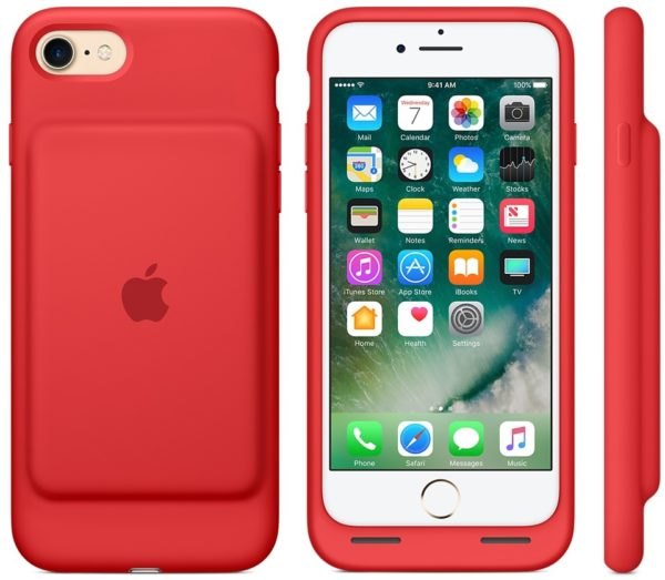 best website eb7de 4f2a9 Buy Apple iPhone 7 Smart Battery Case Red MN022ZM/A – Price ...