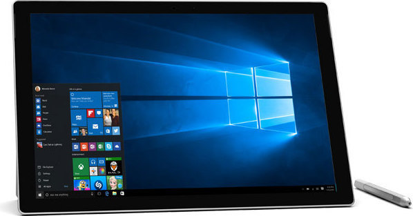Microsoft Surface Pro 4 Tablet - Windows 10 Core i5 8GB 256GB 12.3 Inch Silver + QC700155 Keyboard + 23400015 Xbox One S Console 1TB + 23400141 Xbox One Halo Wars 2 Game