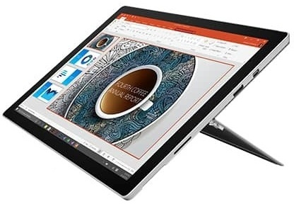 Microsoft Surface Pro 4 Tablet - Win10 Core i5 4GB 128GB 12.3inch Magnesium Silver