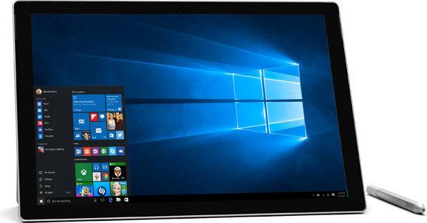 Microsoft Surface Pro 4 Tablet - Windows 10 Pro Core i5 4GB 128GB 12.3 Inch Silver + QC700155 Keyboard