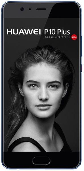 Huawei P10 Plus 4G Dual Sim Smartphone 128GB Dazzling Blue