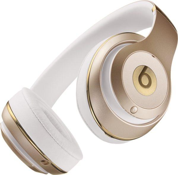 Beats By Dr.Dre MHDM2ZM/B Studio Wireless Over Ear Headphone Gold