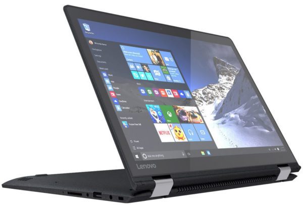 Lenovo Yoga 710 Convetible Touch Laptop - Core i7 2.7GHz 8GB 512GB 2GB Win10 14inch FHD Black
