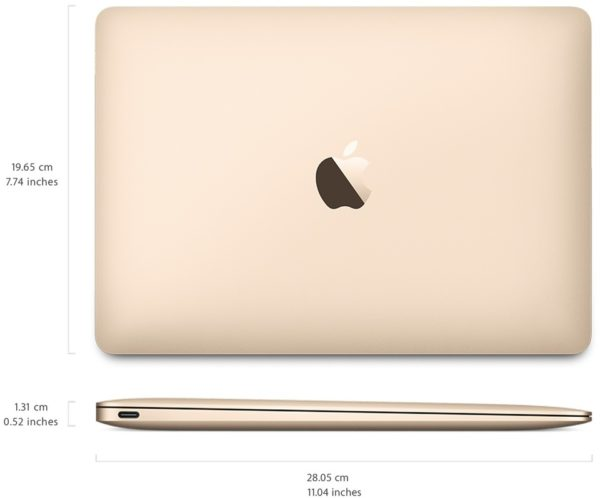 Apple MacBook Laptop - Core i5 1.3GHz 8GB 512GB Shared Gold